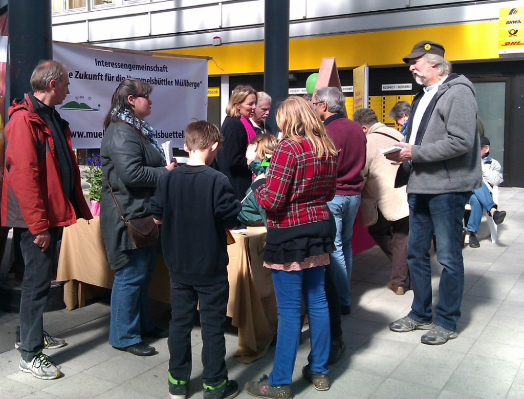 Infostand Langenhorner Markt 2014